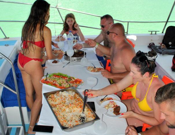 Saona Island Lunch